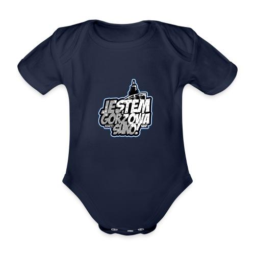 Jestem-Z-Gorzowa-Suko! - Ekologiczne body niemowlęce z krótkim rękawem