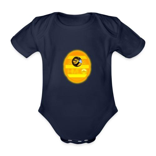 Herre T-Shirt - Med logo - Kortærmet babybody, økologisk bomuld