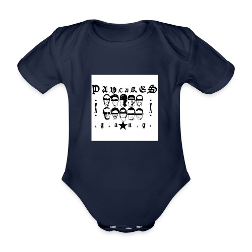 PANCAKESGANG - Ekologiczne body niemowlęce z krótkim rękawem
