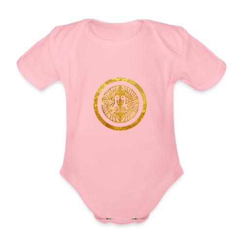 Ikko Ikki Mon Japanese clan - Organic Short-sleeved Baby Bodysuit