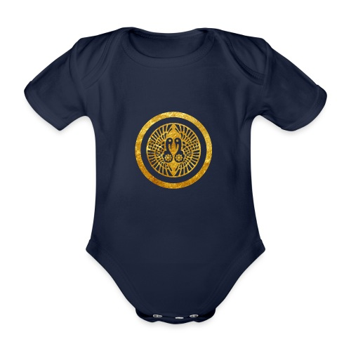 Ikko Ikki Mon Japanese clan - Organic Short-sleeved Baby Bodysuit