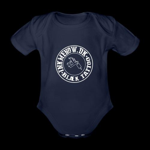 logo hvid png - Kortærmet babybody, økologisk bomuld