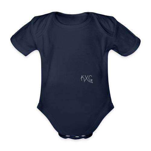 KXGlogo png - Baby bio-rompertje met korte mouwen
