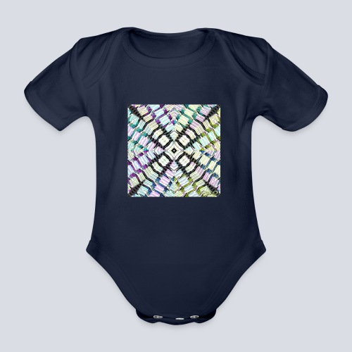 aBSTRAWIATURA 2 - Organic Short-sleeved Baby Bodysuit