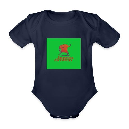 Slentbjenn Knapp - Organic Short-sleeved Baby Bodysuit