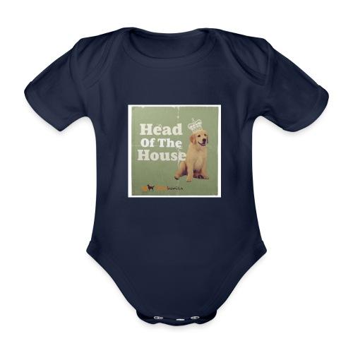 King Golden Retriever Puppy - Body ecologico per neonato a manica corta