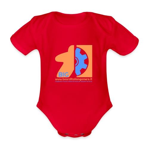 BIG - Body ecologico per neonato a manica corta