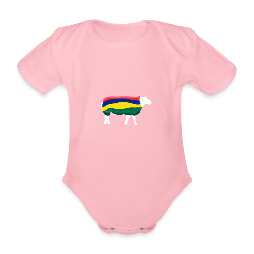 Schaap van Terschelling - Baby bio-rompertje met korte mouwen