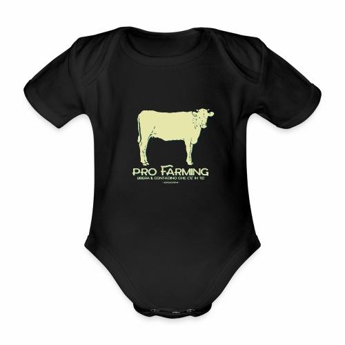PRO Farming - Body ecologico per neonato a manica corta