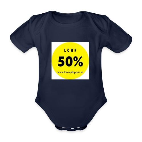 knapp 50 3 - Ekologisk kortärmad babybody