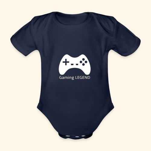 Gaming LEGEND - Baby bio-rompertje met korte mouwen