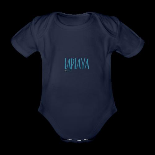 playa - Body orgánico de maga corta para bebé