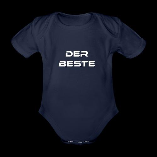 Der Beste weiss - Baby Bio-Kurzarm-Body