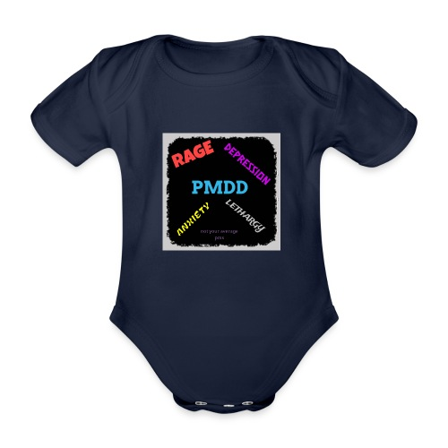 Pmdd symptoms - Organic Short-sleeved Baby Bodysuit