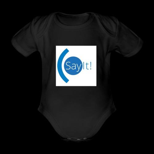 Sayit! - Organic Short-sleeved Baby Bodysuit