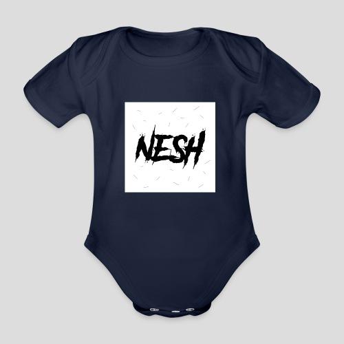 Nesh Logo - Baby Bio-Kurzarm-Body