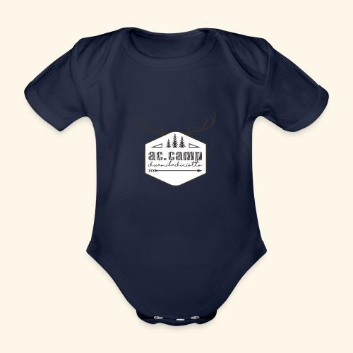 ac camp - Body ecologico per neonato a manica corta