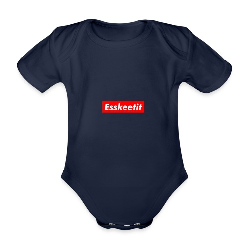 EWC ESKETIT MERCH - Organic Short-sleeved Baby Bodysuit