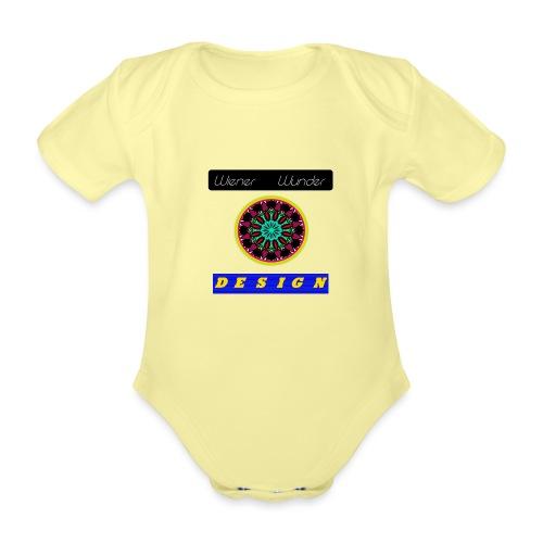 Wiener Wunder Design Logo #2 - Baby Bio-Kurzarm-Body