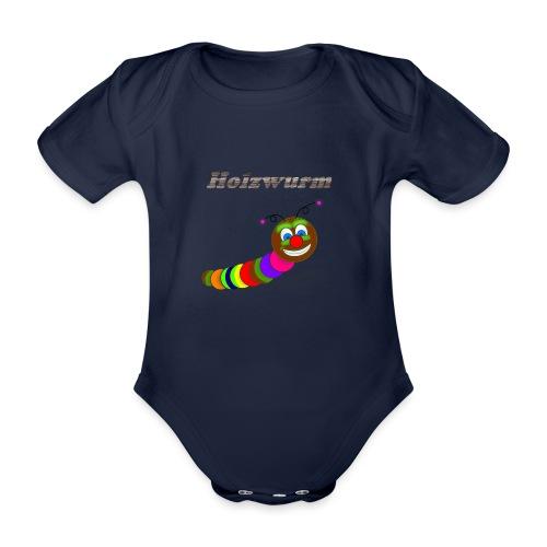 Holzwurm Design - Baby Bio-Kurzarm-Body