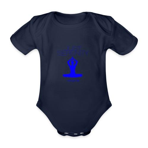 yogatyk blue - Body Bébé bio manches courtes