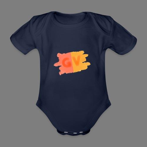 GekkeVincent - Baby bio-rompertje met korte mouwen