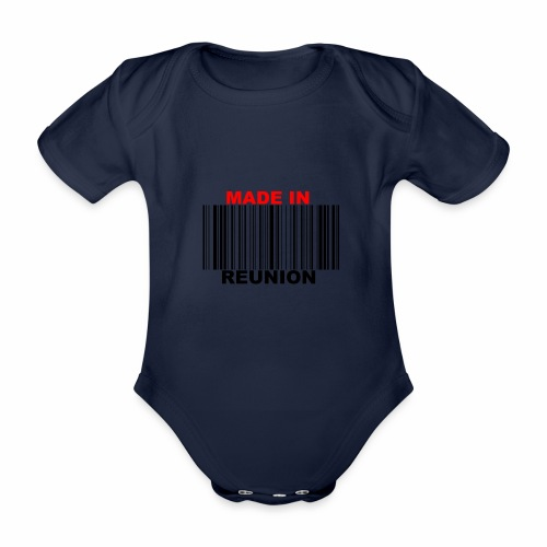 MADE IN REUNION - Body Bébé bio manches courtes