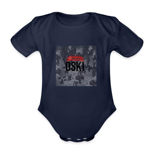 Osky - Body orgánico de maga corta para bebé