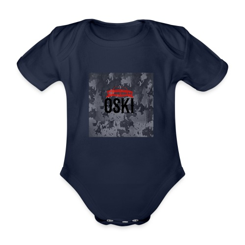 Osky - Body orgánico de manga corta para bebé