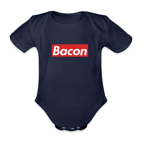 Bacon - Ekologisk kortärmad babybody