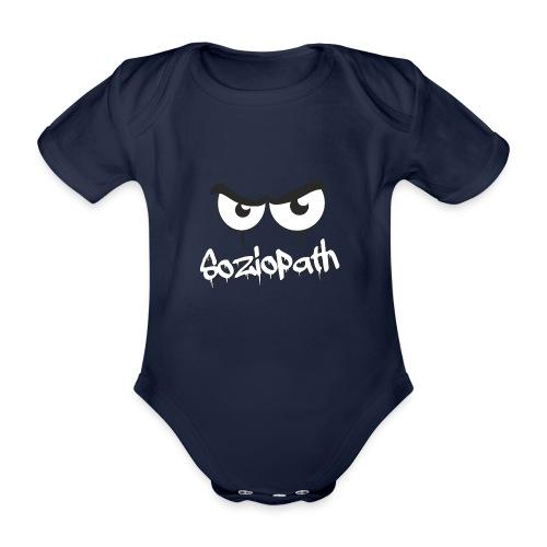 Soziopath - böser Blick - Baby Bio-Kurzarm-Body
