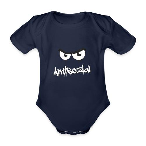 Antisozial - Baby Bio-Kurzarm-Body