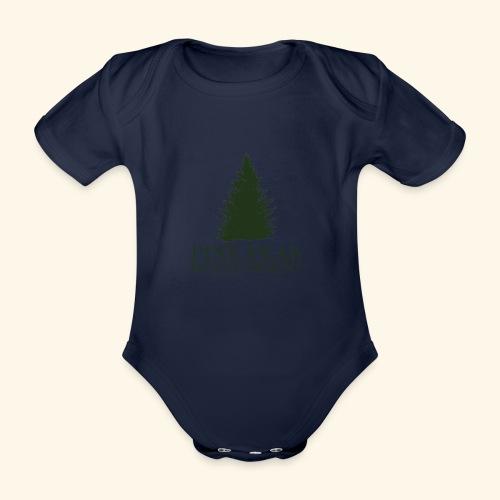Pine Peak Entertainment - Baby bio-rompertje met korte mouwen