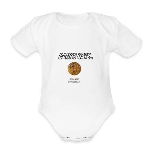 Baks hate - Body ecologico per neonato a manica corta