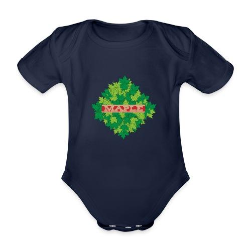 maple - Baby Bio-Kurzarm-Body