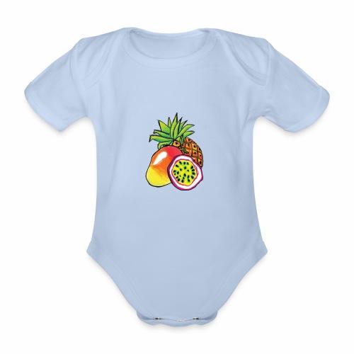 Brewski Pango ™ - Organic Short-sleeved Baby Bodysuit