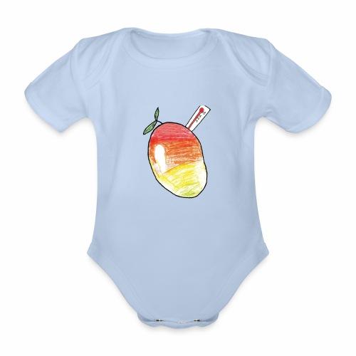 Brewski Mangofeber ™ - Organic Short-sleeved Baby Bodysuit