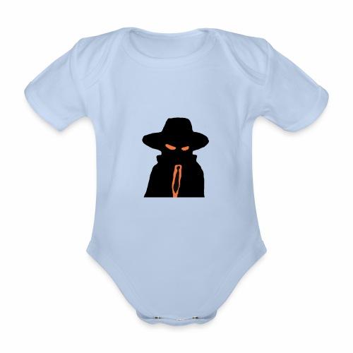 Brewski Herr Hemlig ™ - Organic Short-sleeved Baby Bodysuit