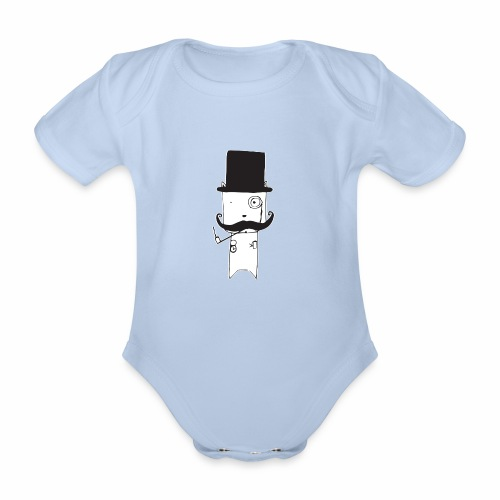 Official Brewski ™ Gear - Organic Short-sleeved Baby Bodysuit