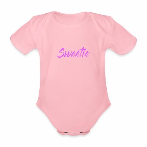 Sweetie - Organic Short-sleeved Baby Bodysuit