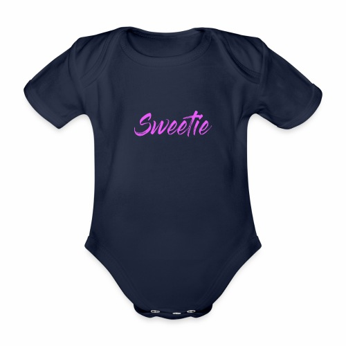 Sweetie - Organic Short-sleeved Baby Bodysuit