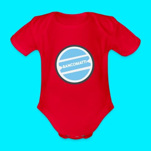 Bancomatti - Body ecologico per neonato a manica corta