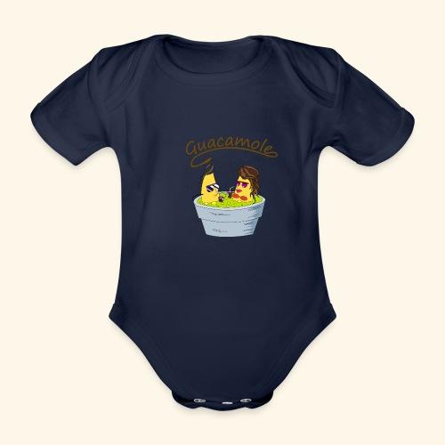 Guacamole - Body orgánico de maga corta para bebé