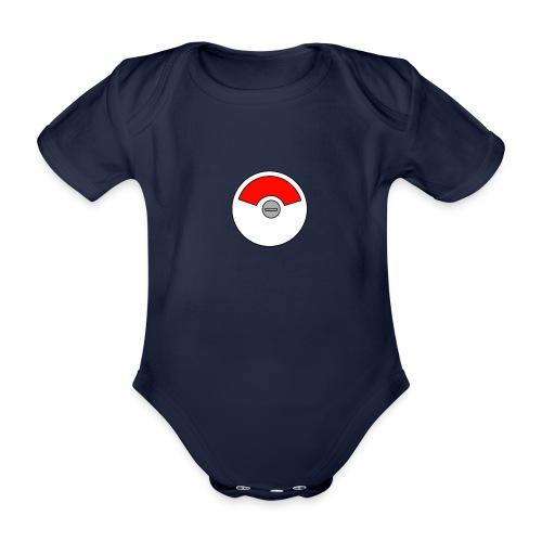 Flierp Bezet - Baby bio-rompertje met korte mouwen