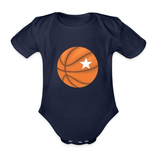 Basketball Star - Baby bio-rompertje met korte mouwen