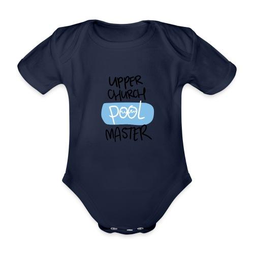 Upper church POOL master - Baby bio-rompertje met korte mouwen
