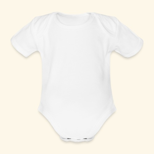Han Ouais GTA blanc - Body Bébé bio manches courtes