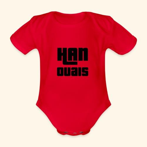 Han Ouais GTA noir - Body Bébé bio manches courtes