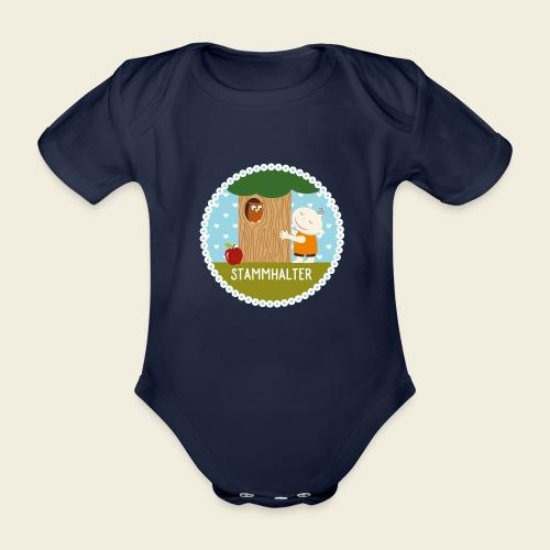 Stammhalter - Baby Bio-Kurzarm-Body
