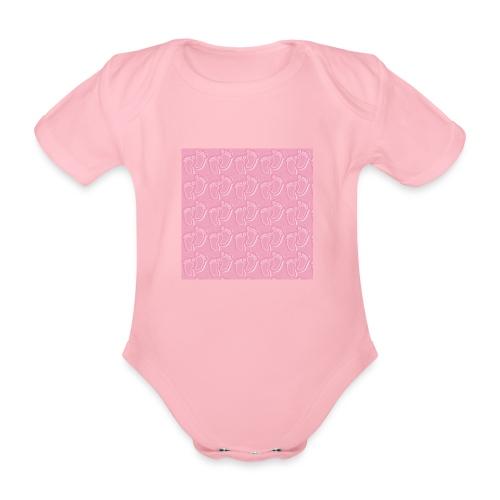 kidfootprint a14 - Organic Short-sleeved Baby Bodysuit